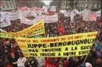 manifestations retraites juppé 1995 300x195 Économie politique et finances en France, Europe et monde