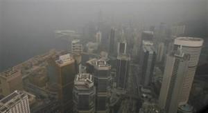 LA POLLUTION DE RETOUR DANS LE CIEL DE SHANGHAI