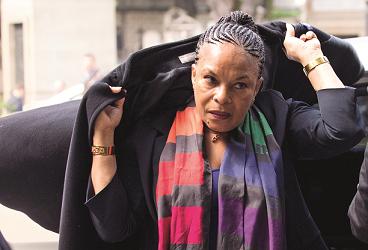 Christiane Taubira a demandé l'annulation d'une condamnation de son fils