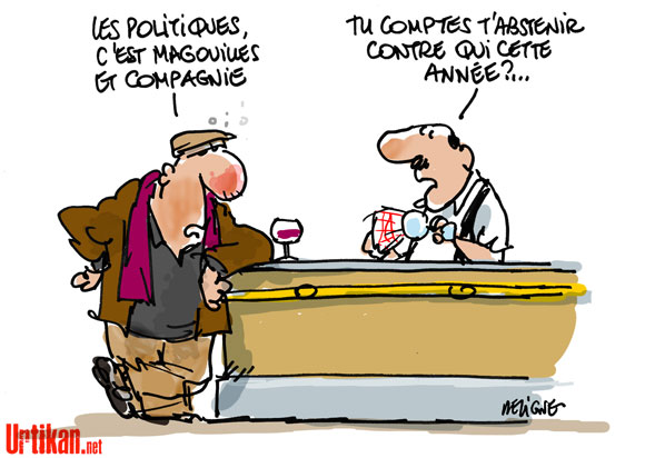 humour : abstention élections cantonales